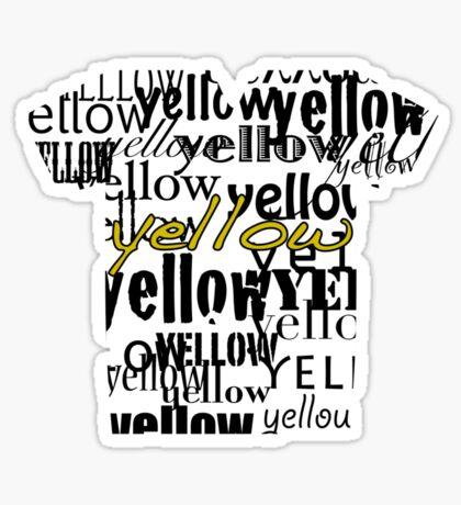 Le Tour: Yellow Sticker