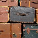 Suitcase background by iOpeners