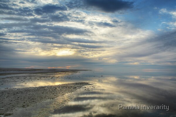 Lake Eyre Reflections by Pamela Inverarity