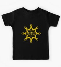 We Go Yellow for Sarcoma Awareness Month Kids Tee