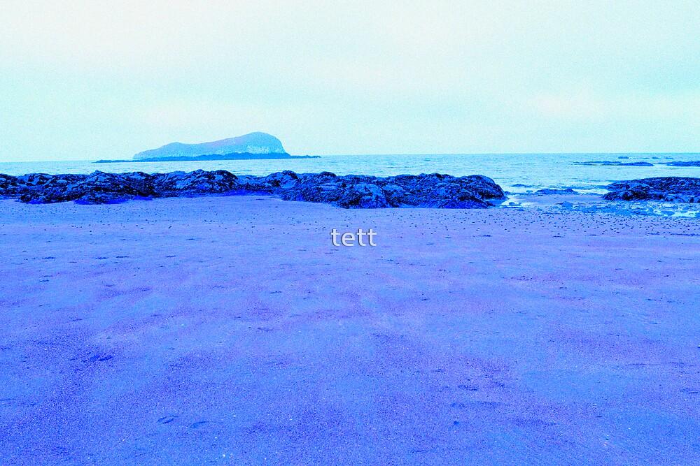 Lone Beach by tett