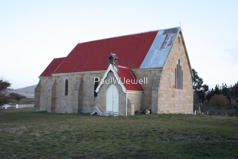 St. James' Church of England. Jericho Tasmania. by PaulWJewell