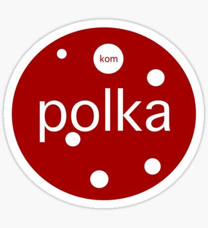 Le Tour: Polka Dot Sticker