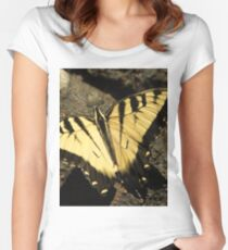 Butterfly the Vamp Slayer Women's Fitted Scoop T-Shirt