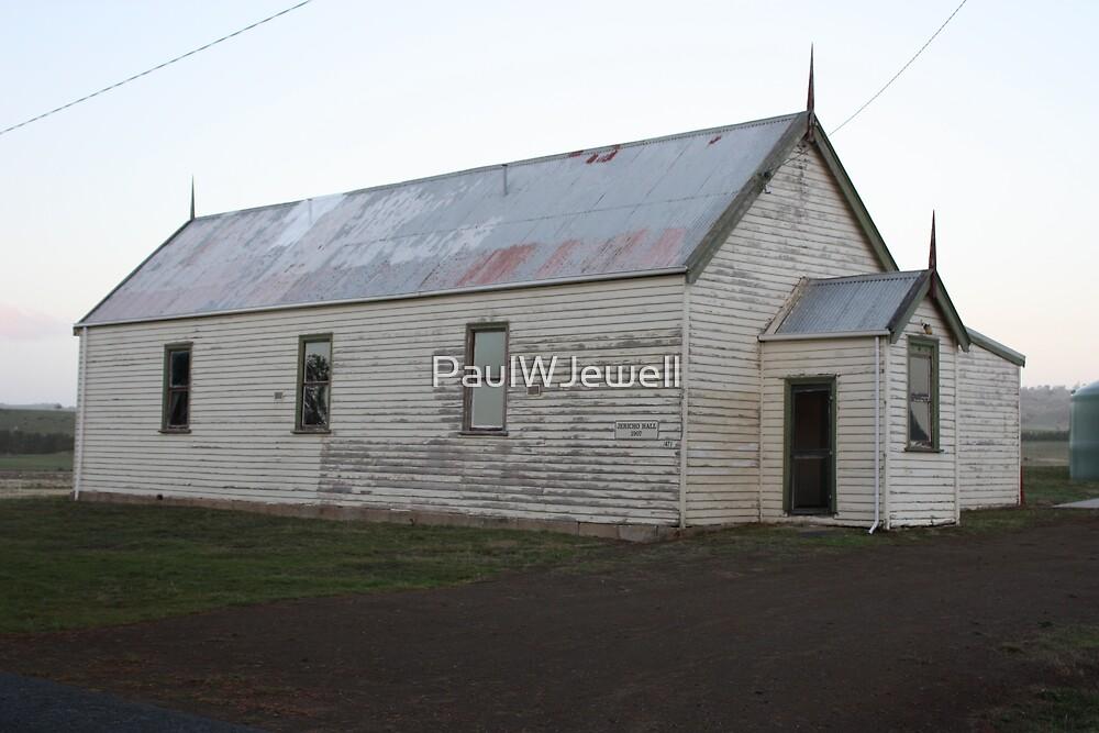 Jericho Hall 1907 - Jericho Tasmania. by PaulWJewell
