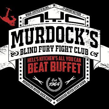 Murdock's Blind Fury Fight Club - Dist Red/White V03 by coldbludd