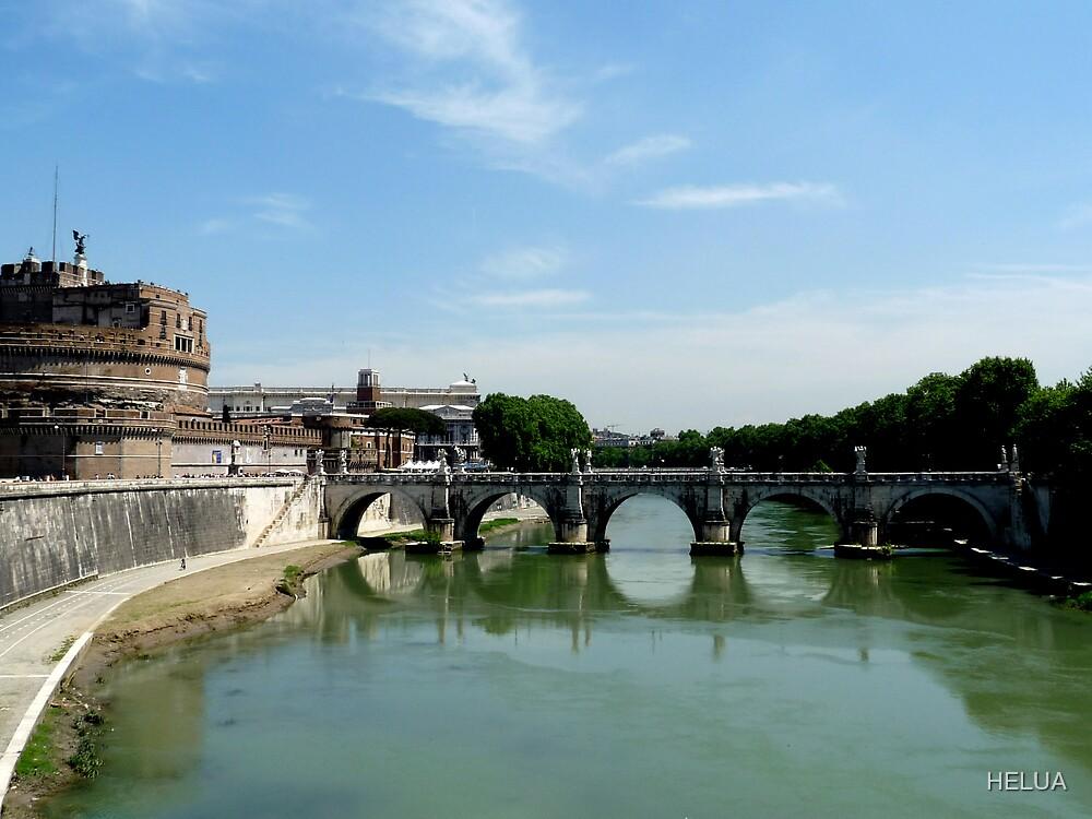 The River Tiber by HELUA