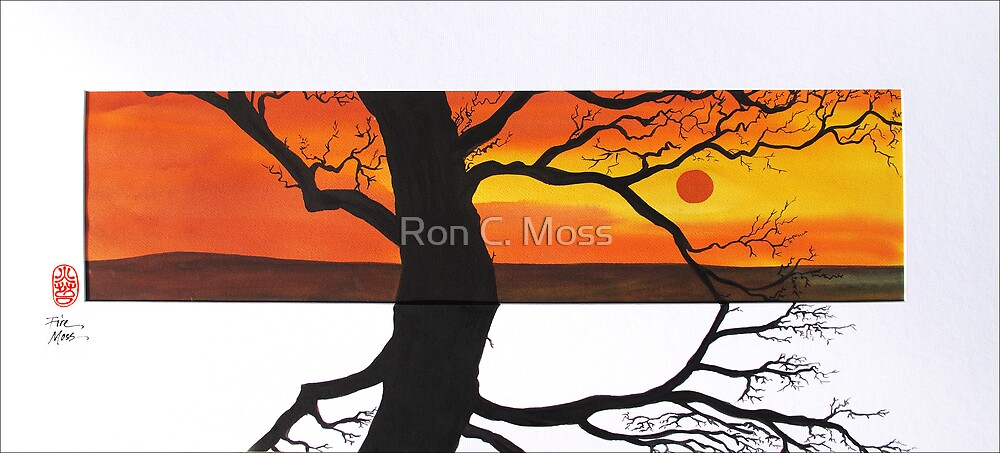 Sunset Shadows by Ron C. Moss