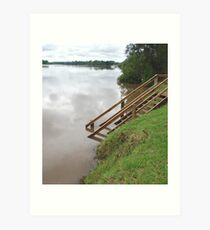 Manning River in Flood Art Print