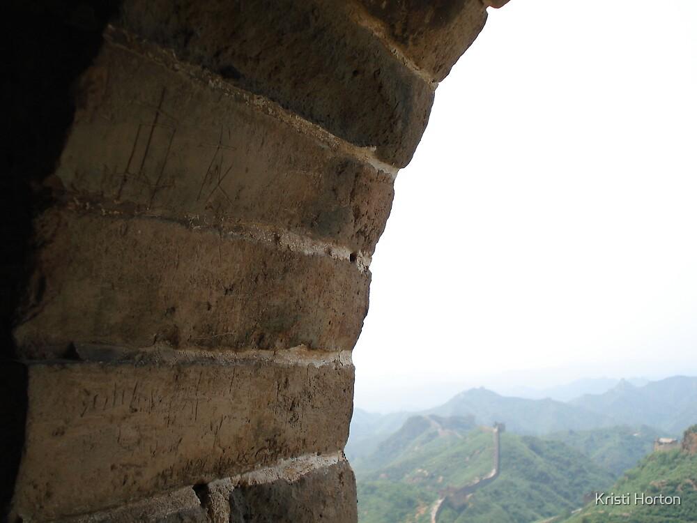 Great Wall by Kristi Horton