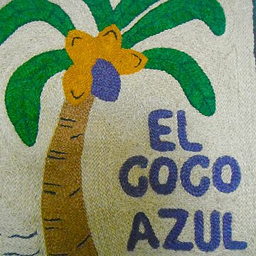 El Coco Azul - San Juan de Sur - Nicaragua - Central America by exploramum