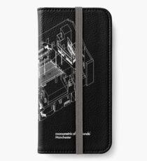 Haç Axonometric (black version) iPhone Wallet/Case/Skin