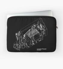 Haç Axonometric (black version) Laptop Sleeve