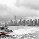 Küstenwache und NYC von Sean Sweeney