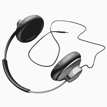 Headphones cutout by hackmonkey