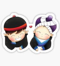 Chibi Hmonggy Couple Sticker