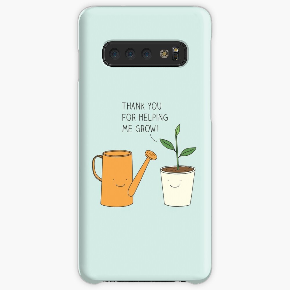 Danke, dass du mir geholfen hast zu wachsen! Hüllen & Klebefolien für Samsung Galaxy