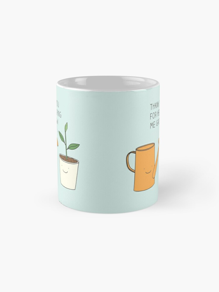 Alternate view of Thank you for helping me grow! Mug