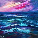 Choppy seas by Ivana Pinaffo