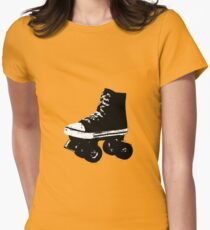 RollerSkate Women's Fitted T-Shirt