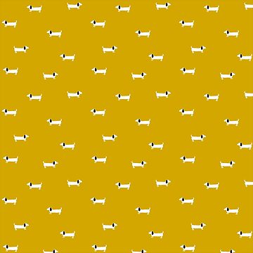 Dog dachshund pattern by bigmoments