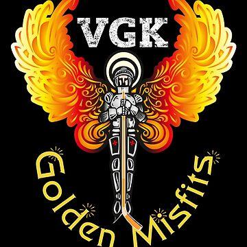 Vegas Golden Misfits Ice Hockey VGK Fan Shirt by CliqueBank