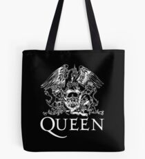 Queen Band Royal Crest Logo Tote Bag
