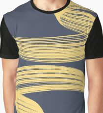 Wind Lines Graphic T-Shirt