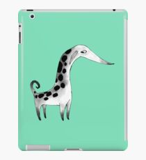 Gestekte Kreatur - Farbe iPad-Hülle & Klebefolie