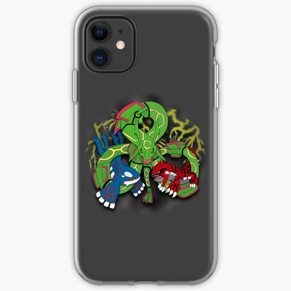 Rayquaza, Kyogre, & Groudon - Hoenn Remake Ahoy! iPhone Soft Case