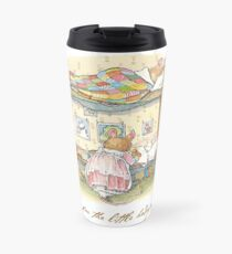 Lady Woodmouse gets the little mice into bed Travel Mug