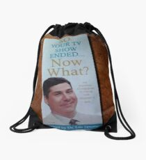 so your tv show ended Drawstring Bag