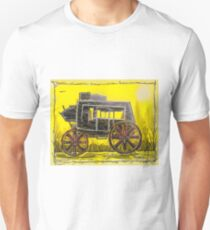 Old West Stagecoach Unisex T-Shirt
