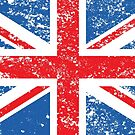 Distressed Effect Union Jack/Flag by NataliePaskell