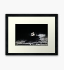Moon Rises Framed Print