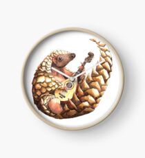 Pangolin playing the Mandolin Clock