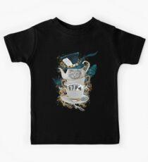 Alice in Wonderland Mad hatter Cheshire Cat Kids Tee