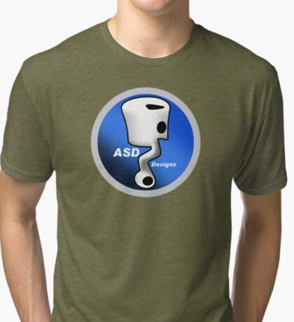ASD Blue Logo Tri-blend T-Shirt
