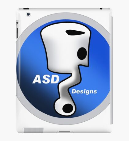 ASD Blue Logo iPad Case/Skin