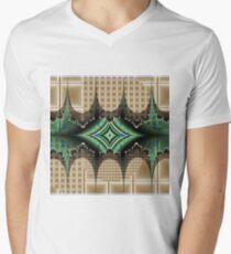 Abstract Diamond Men's V-Neck T-Shirt
