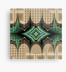 Abstract Diamond Metal Print