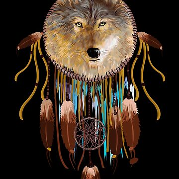 wolf dreamcatchers by GreenLight08
