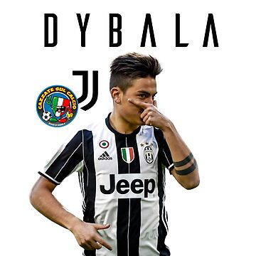 cazzate sul calcio - Dybala Mask - juve by storebycaste