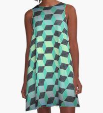 Cubism 1 A-Line Dress