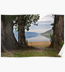 The Beautiful Okanagan  Lake  Poster