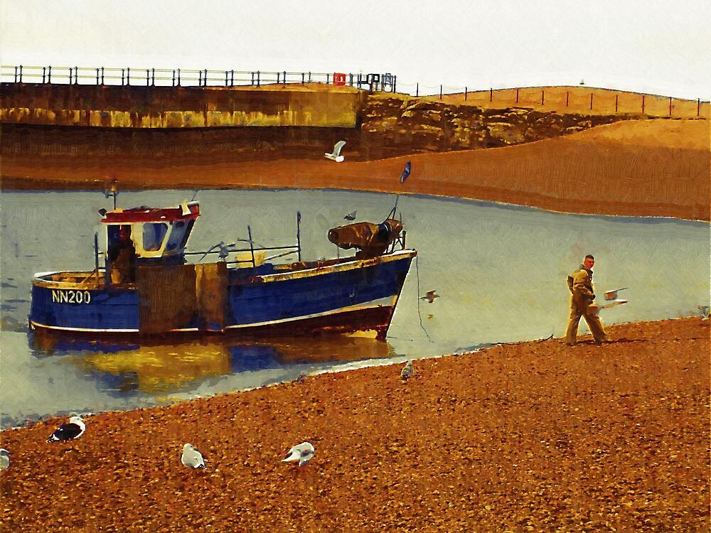 Hastings fishermen by Gabriel Popa