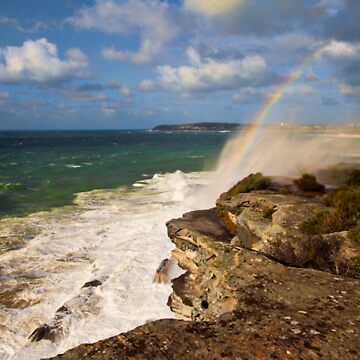 Sea Spray Rainbow by scatrdjason