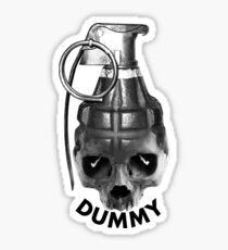 Dummy-Granate Sticker