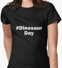 # Dinosaur Day Women's Fitted T-Shirt