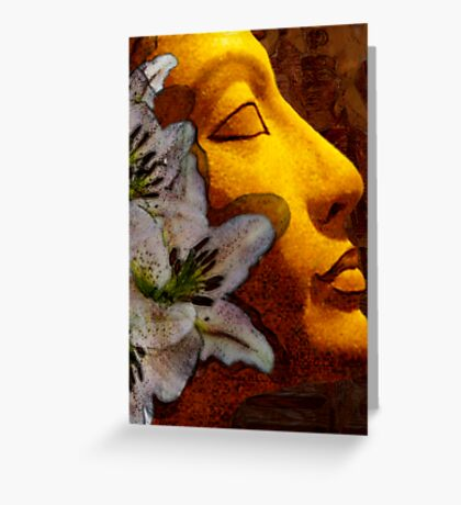 Egyptian series-pure beauty (card only) Greeting Card